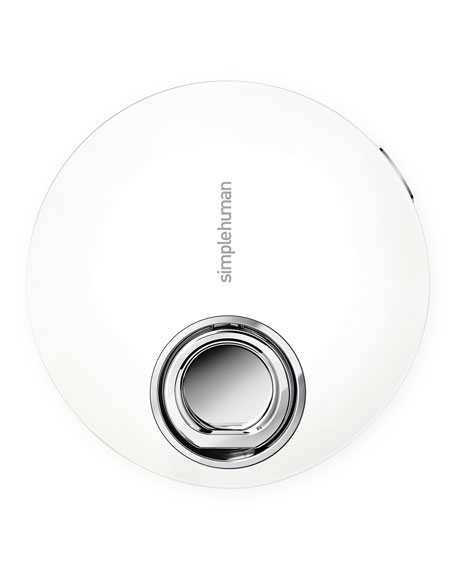 "simplehuman 4"" Sensor Mirror Compact, White"
