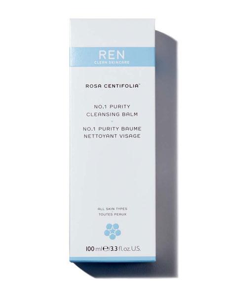 REN Rosa Centifolia™ No.1 Purity Cleansing Balm, 3.4 oz./ 100 mL