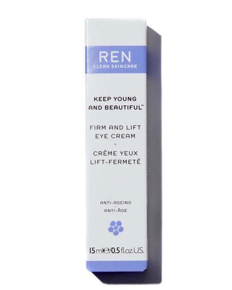 REN Keep Young and Beautiful™ Firm & Lift Eye Cream, 0.5 oz./ 15 mL