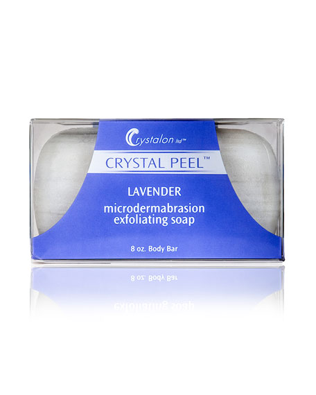 Crystalon Microdermabrasion Exfoliating Soap Body Bar &#150 Lavender Scent, 8.0 oz./ 237 mL