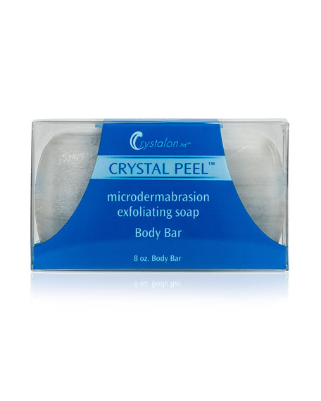 Crystalon Microdermabrasion Exfoliating Soap – Lemon Grass Scent, 8.0 oz./ 237 mL
