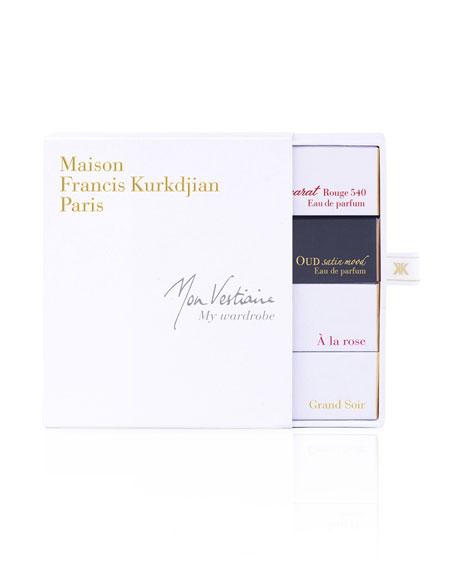 Maison Francis Kurkdjian MY WARDROBE FRAGRANCE BUNDLE, 4 X 0.37 OZ