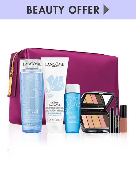 Yours with any $125 Lancome Purchase