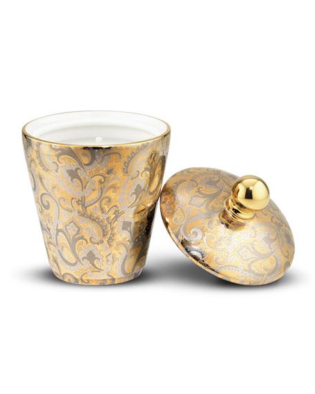 Stefano Ricci Tricolor Paisley Aureum Candle