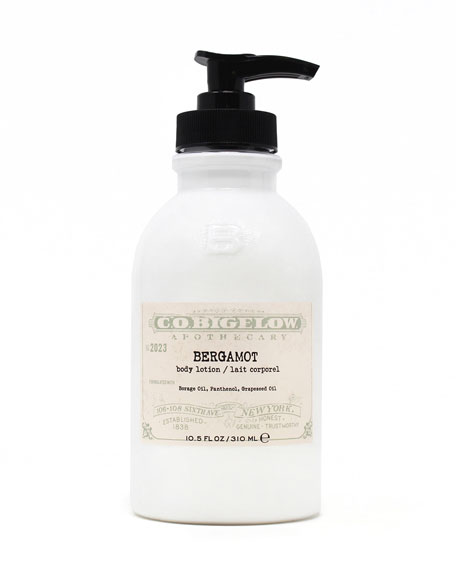 C.O. Bigelow Bergamot Body Lotion, 10.5 oz./ 310 mL