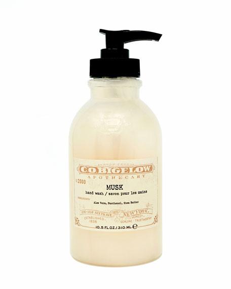 C.O. Bigelow Musk Hand Wash, 10.5 oz./ 310 mL