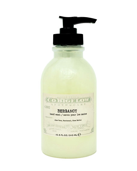 C.O. Bigelow Bergamot Hand Wash, 10.5 oz./ 310 mL