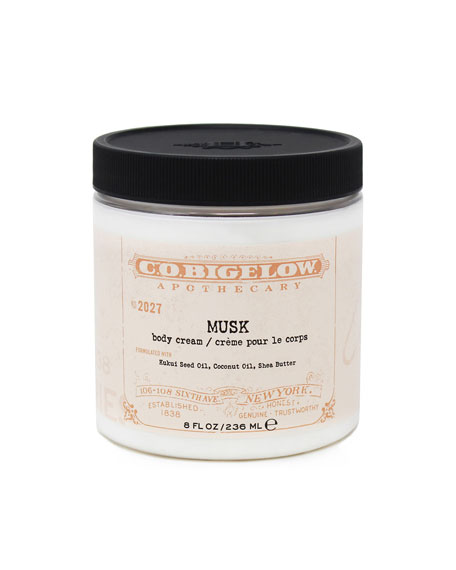 C.O. Bigelow Musk Body Cream, 8 oz./ 236 mL