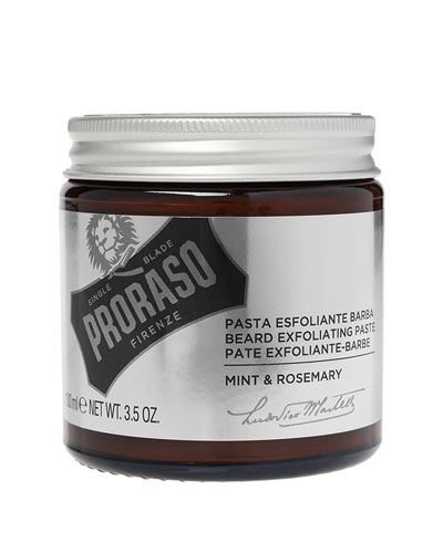 Exfoliating Beard Paste & Face Scrub  3.5 oz./ 103.5 mL