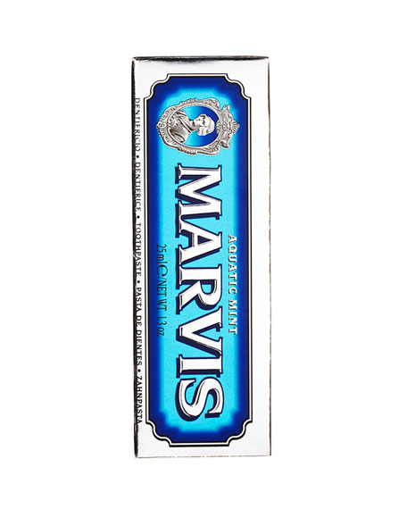 Marvis Aquatic Mint Toothpaste, 1.3 oz./ 25 mL