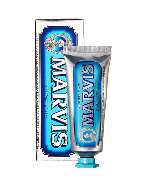 Marvis Aquatic Mint Toothpaste, 1.3 oz./ 25 mL