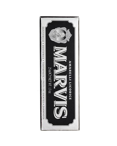 Marvis Amarelli Licorice Mint Toothpaste, 1.3 oz./ 25 mL