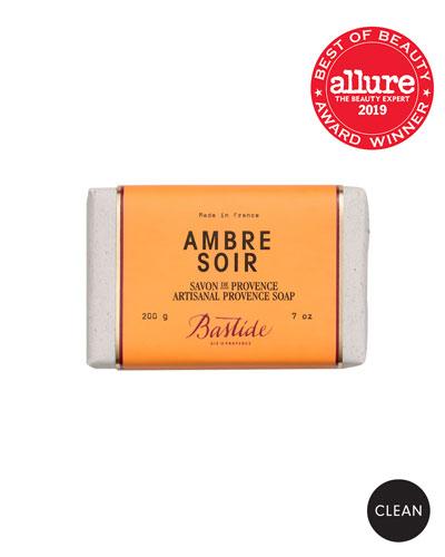 Ambre Soir Artisanal Provence Soap Bar  7 oz. /200 g