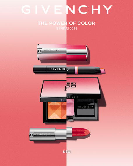 Givenchy Power of Color Spring 2019 Le Rouge Lipstick, Semi-Matte Lipstick in Limited Edition Shade & Packaging