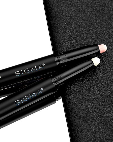 Image 4 of 5: Sigma Beauty Clean Up + Highlight Brow Crayon