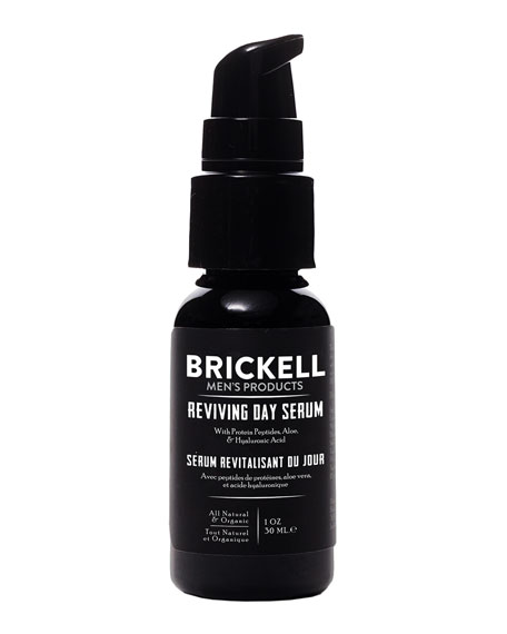 Brickell Men's Products Reviving Day Serum, 1 oz./ 29 mL
