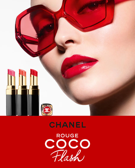 CHANEL <b>RENO ROUGE COCO FLASH</b><br>Hydrating Lipstick