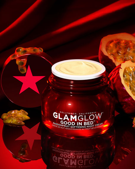 Glamglow Good In Bed Passionfruit Softening Night Cream, 1.5 oz./ 44 mL