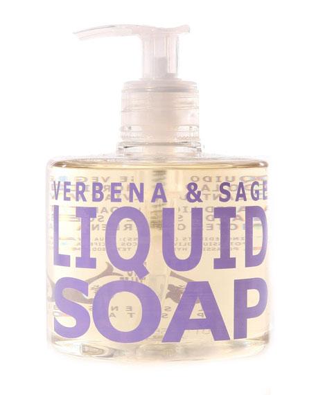 Eau d' Italie Verbena & Sage Liquid Soap, 10 oz./ 300 mL