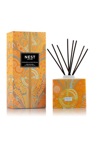 Nest Fragrances Pineapple & Driftwood Reed Diffuser, 5.9 oz.