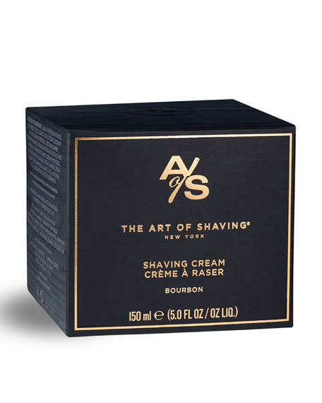 The Art of Shaving Bourbon Shaving Cream, 5 oz./ 150 mL