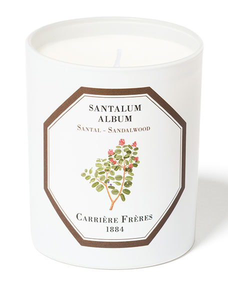 Carriere Freres Sandalwood Candle, 6.5 oz. / 184 g