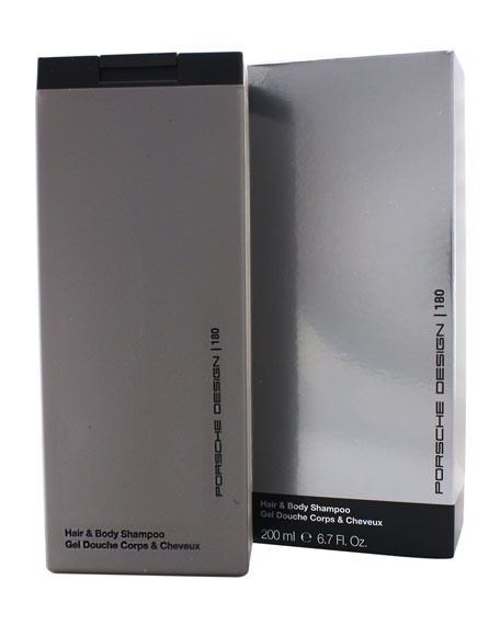 Porsche Design Porsche 180 Hair and Body Shampoo, 6.8 oz.