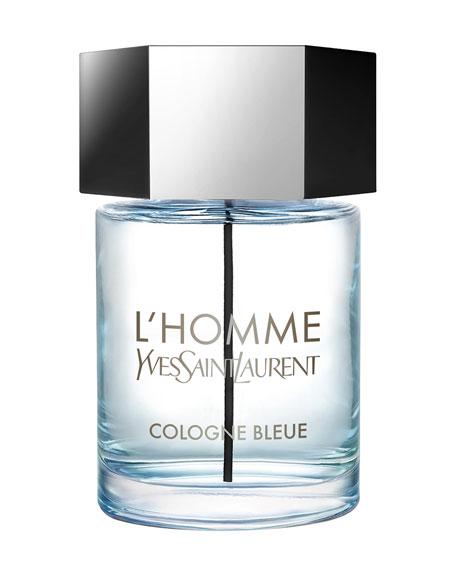 Yves Saint Laurent Beaute L'Homme Cologne Bleue Eau de Toilette, 3.3 oz./ 100 mL