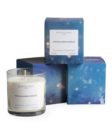 BURKELMAN Princess Jasmine Sparkles Candle, 9 oz. / 255 g