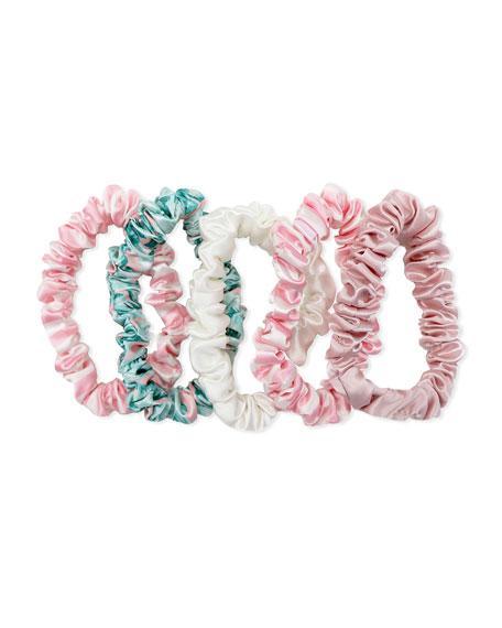 Slip Silk Slip Midi Scrunchies - Cali Collection