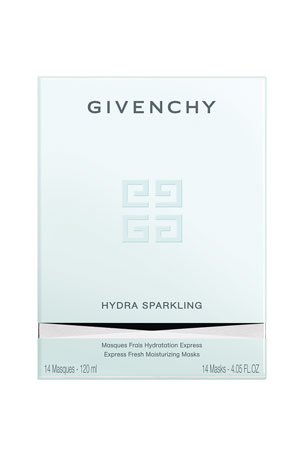 Givenchy Hydra Sparkling Express Fresh Moisturizing Masks (14 Count)