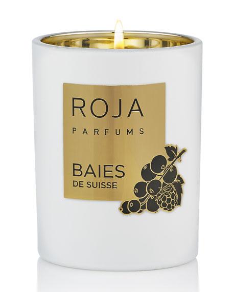 Roja Parfums Baies De Suisse Candle, 7.8 oz./ 220 g
