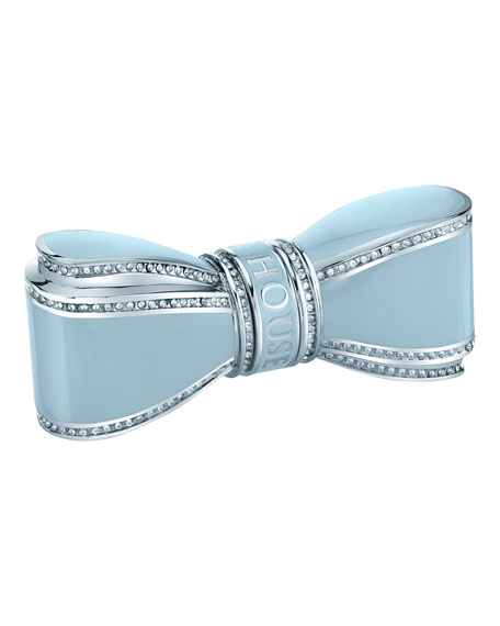 House of Sillage Bow Lipstick Case, Light Blue