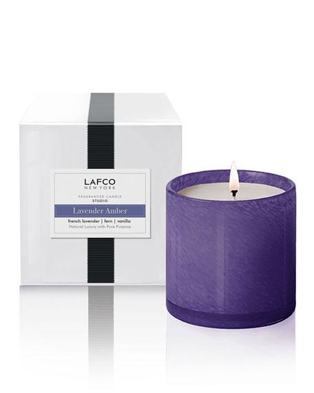 Lafco Lavender Amber Candle - Studio, 15.5 oz./439g