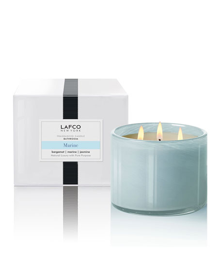 Lafco Marine 3-Wick Candle - Bathroom, 30 oz./850g