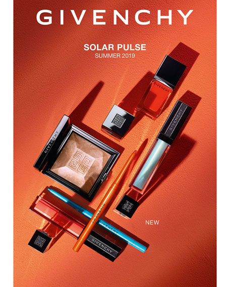 Givenchy Limited Edition Summer '19 Solar Pulse Healthy Glow Powder Marble Edition - Sun-Kissed Highlight