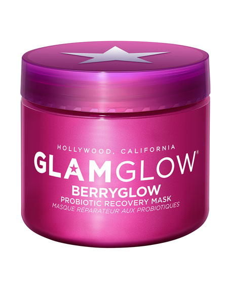 Glamglow BERRYGLOW  Probiotic Recovery Face Mask, 2.5 oz./ 45 mL