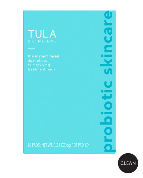 TULA Dual-Phase Skin Reviving Treatment Pads, 16 pads