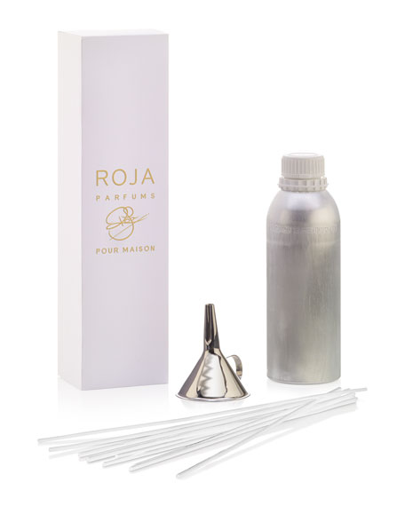 Roja Parfums Amber Aoud Reed Diffuser Oil, 25.3 oz./ 750 mL