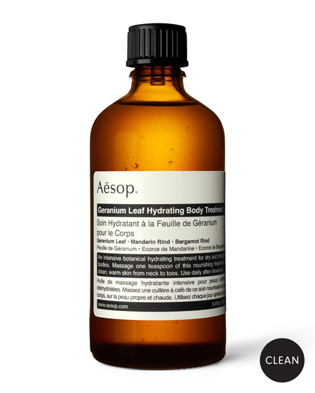 Aesop Geranium Leaf Hydrating Body Treatment, 3.4 oz./ 100 mL