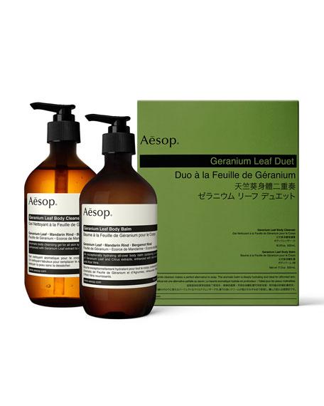 Aesop Geranium Leaf Body Care Kit (Duet)