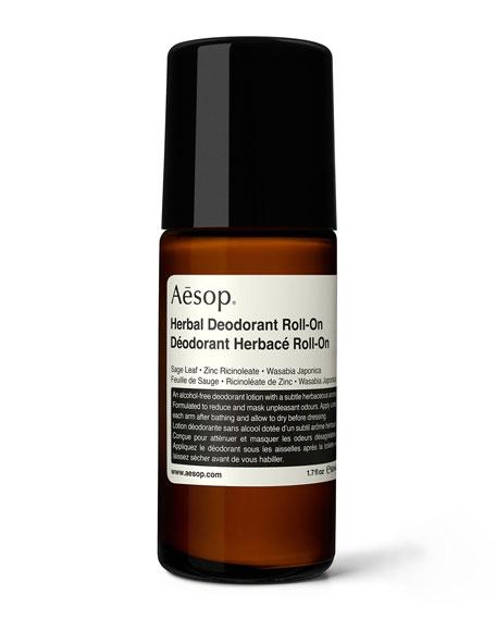 Aesop Herbal Deodorant Roll-On, 1.7 oz./ 50 mL
