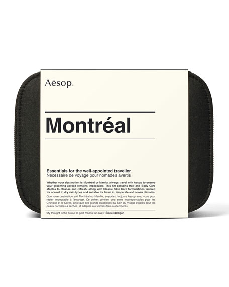Aesop Montreal City Kit - Classic