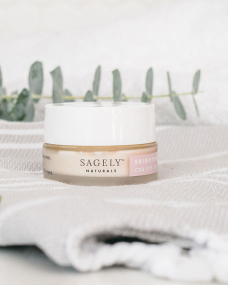 Image 2 of 5: Sagely Naturals 0.5 oz. Brightening Eye Cream with 150 mg CBD