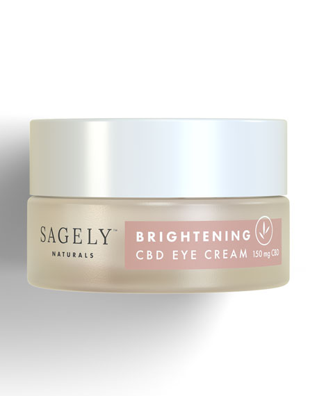 Image 1 of 5: Sagely Naturals 0.5 oz. Brightening Eye Cream with 150 mg CBD