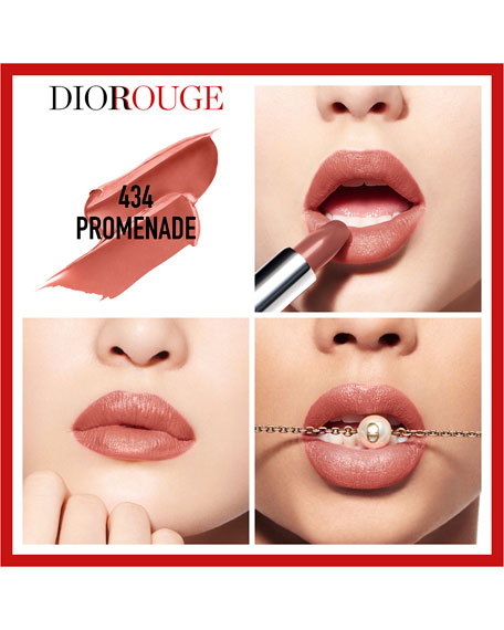 Image 3 of 5: Limited Edition Rouge Dior Couture Collection - Refillable Lipstick, Jewel Edition