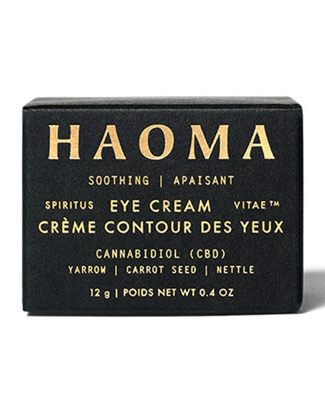 Haoma Soothing Eye Cream with CBD, 0.4 oz. / 12 g