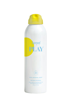Supergoop! 6 oz. PLAY 100% Mineral Body Mist SPF 50 with Green Tea Extract