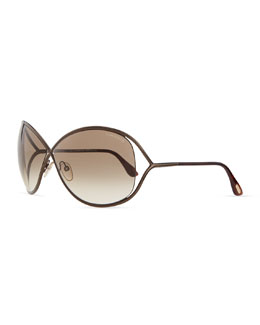 Tom Ford Miranda Sunglasses, Bronze