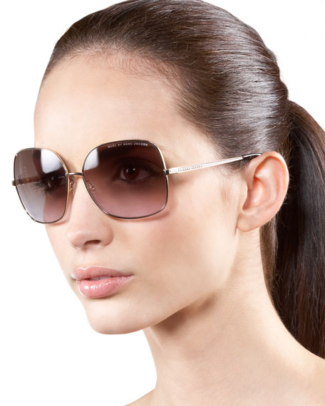 4d2268c9ed MARC by Marc Jacobs Oversized Square Sunglasses. Oversized Square Sunglasses